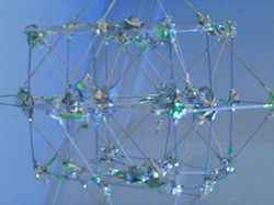 Blue Cube Octa Geometric Study