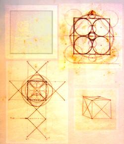 Fish Tetra Cube Drawings