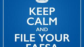 It's FAFSA time!