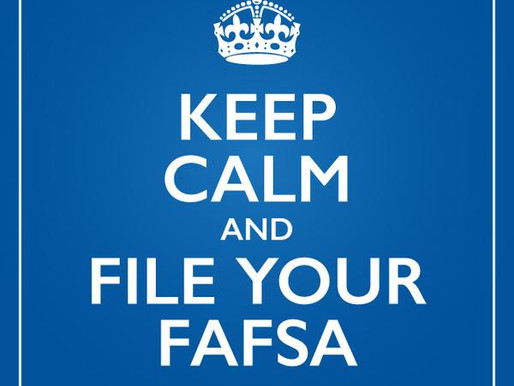 FAFSA = Financial Aid = Money for College
