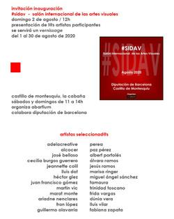 INVITACION SIDAV 20 MONT AGOSTO A