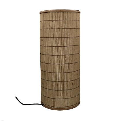 Lampe MAHINA Bambou Dia 25xH60cm- Naturel