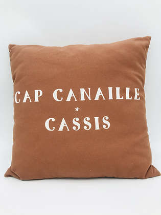 Coussin Cap Canaille Cassis  40x40cm
