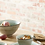 Thumbnail: Assiette à dessert KIMO en grès Dia 21cm Aqua - Pomax