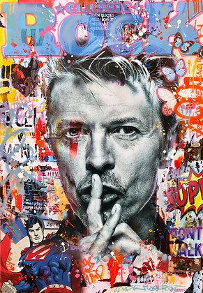 Go lucky David (130 x 90 cm)