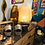 Thumbnail: Lampe de Table FIDJI Bambou Dia 35,5 X H43cm - Naturel