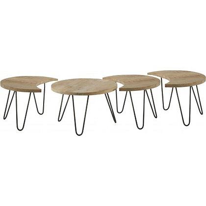Table Basse Nest Motifs Set/4 Athezza 165.5x59xH39cm