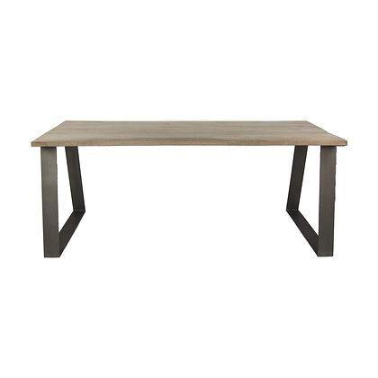 Table ARIZONA Bois de Manguier / Métal 190x90xH 78cm