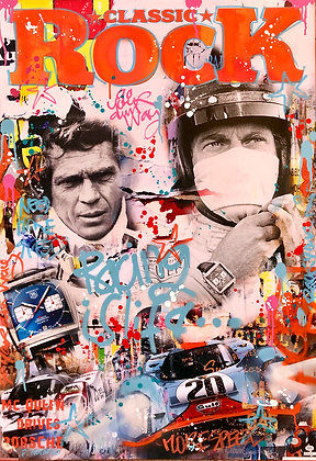Racing is Life (130 x 90 cm)