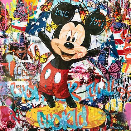 Wonderful Mouse (50 x 50 cm)