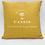 Thumbnail: Coussin Cassis Gold 40/40cm