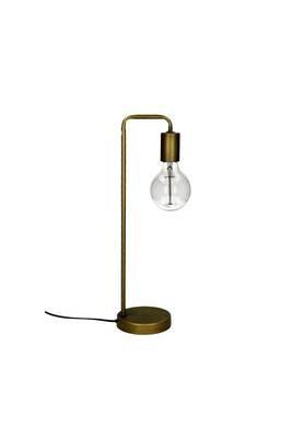 Lampe de Table ALMA Métal Dia 13x13H48,5cm- Or