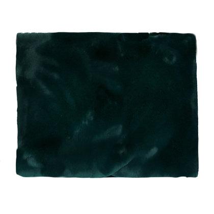 Plaid FLUF Acrylique/ Polyester 120x160cm Vert -Pomax