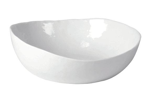 Bol à Pâtes PORCELINO WHITE en Porcelaine Dia 21x H 6cm -Pomax