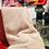 Thumbnail: Plaid FLUF Acrylique/ Polyester 120x160cm Blanc Cassé-Pomax