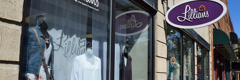 Lillians of Bismarck | Downtown | Boutique | Store front.