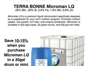 "Microman: Your Turf's ""Multi-Vitamin"""