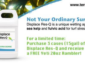 Displace Res-Q = Free Yeti Rambler