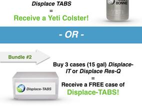 Displace Tablet Bundle Promotion