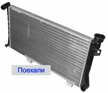 Радиатор охлаждения Ваз 21213  картинка