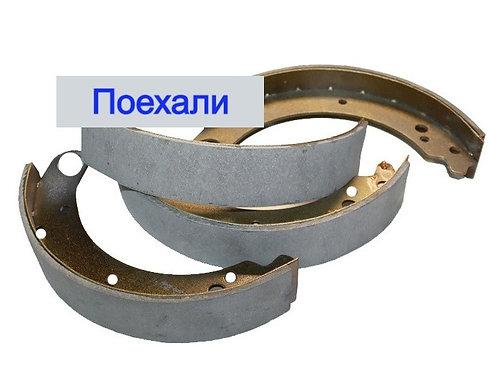Колодки тормозные задние Волга 24 3110 картинка