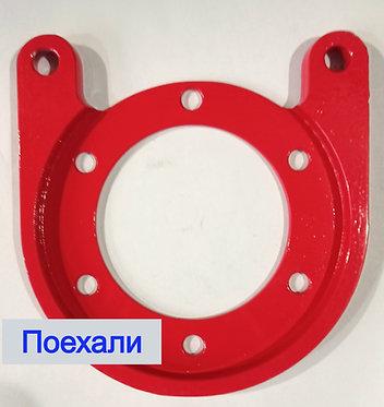Пластина переходная УАЗ для дисковых тормозов картинка