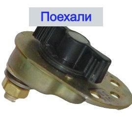 Выключатель массы флажок ВК 318Б У - ХЛ картинка