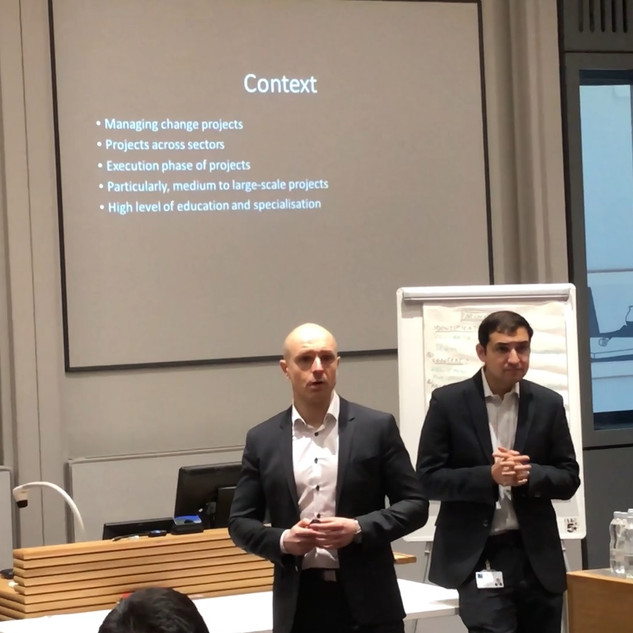 presentation at Oxford University, Saïd Business School
