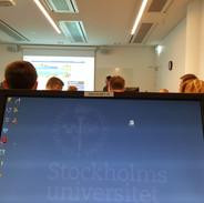 classes at Stockholm University, Stockholm Business School