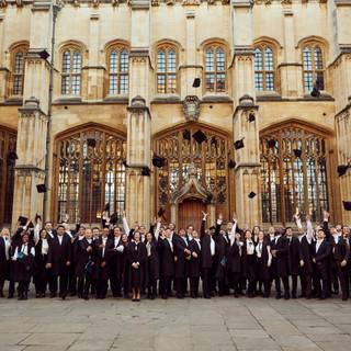 Oxford University - celebration
