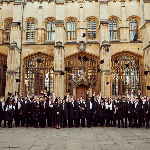 Oxford University - celebration