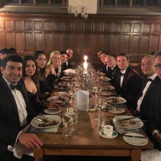 dinner at Oxford