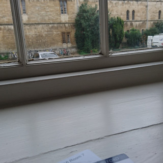 My room at Pembroke college, Oxford
