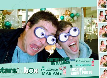 Merci à tous les futurs mariés qui se sont arrêtés sur le stand de Starsinbox