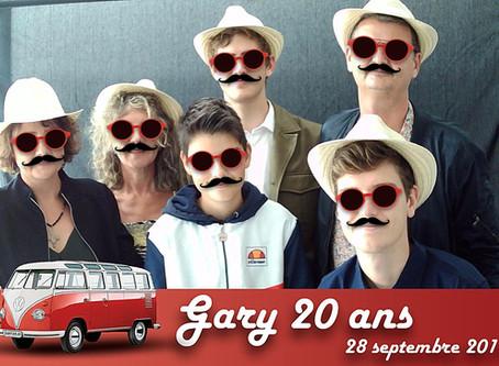 Quelques photos de l'animation avec Le Photostar pour les 20 ans de Gary.