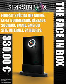 Pack Face in box 24HEURES sans tirage ph