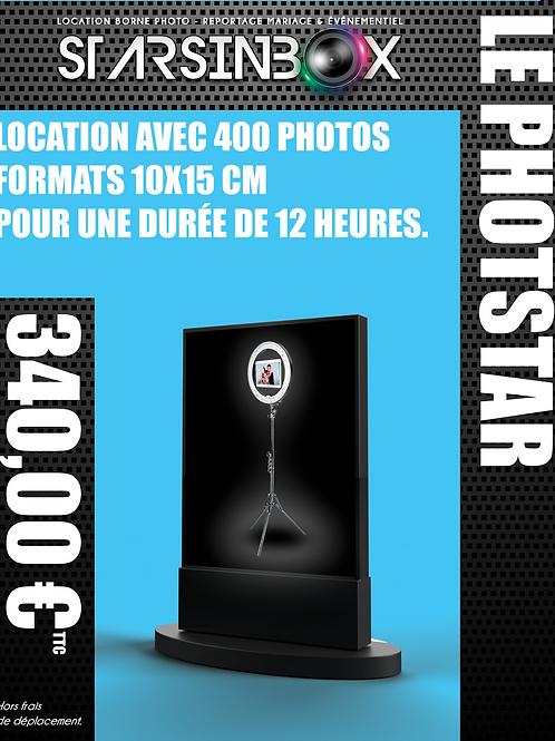 PHOTOSTAR Location de 12 heures et 400 photos 10x15cm.