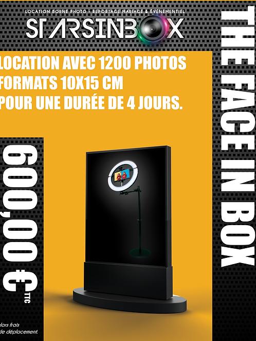 FACE IN BOX Location de 4 jours et 1200 photos 10x15cm.