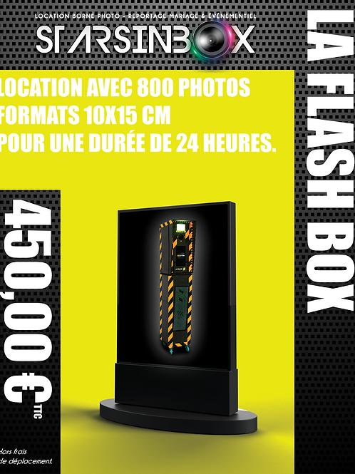 FLASH BOX Location de 24 heures et 800 photos 10x15cm