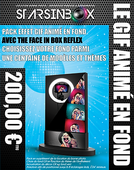 3D pack face in box reflex avec fond gif