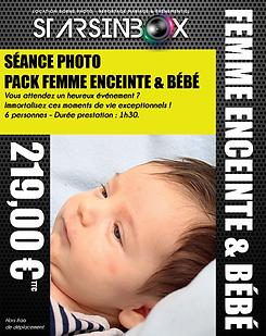 Pack femme enceint, bébé 2021 -  199 €