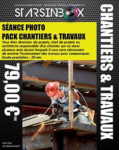 Pack chantiers et travaux 2021 -  59 €.p
