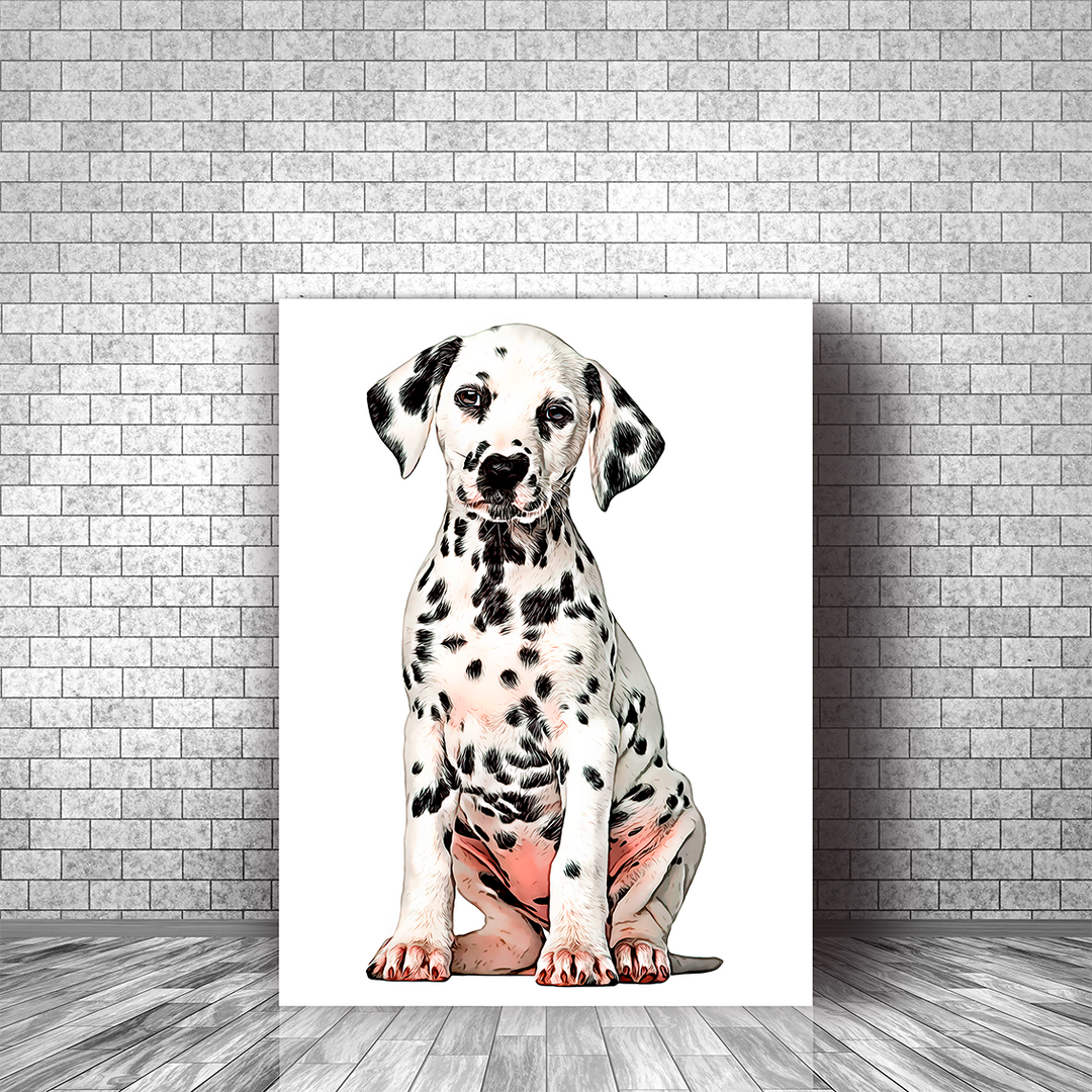 dalmatien cartoon toile.png