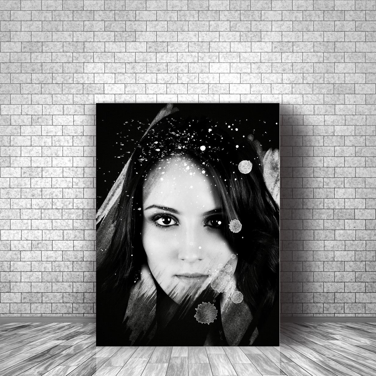 Art Photo effet 14 Black Background toil