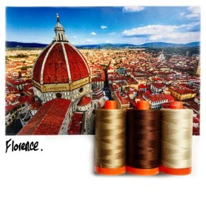 Aurifil - Colour Builders Thread Collection - Florence - Browns