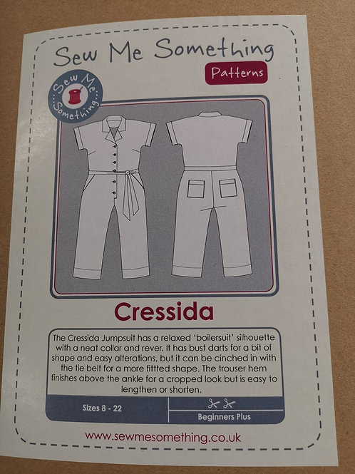 Sew Me Something - Cressida Jumpsuit (Sizes 8 - 22)