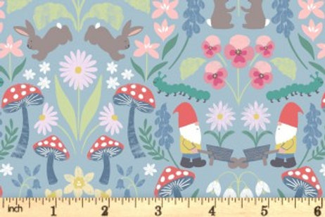Lewis And Irene - Jolly Spring - Jolly Spring - Blue - A341.2