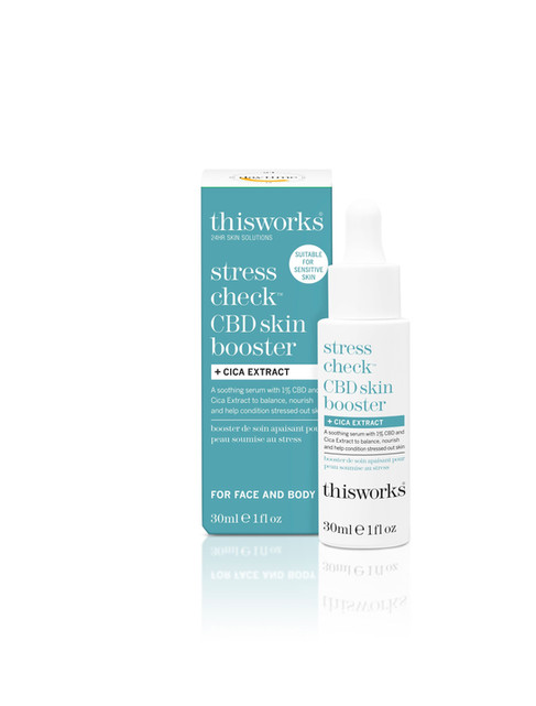 This Works Stress Check CBD Skin Boost+Cica 30Ml