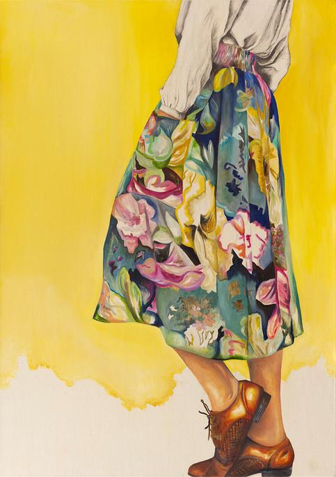 Yellow_70x100cm_Oil_Paint_on_Canvas_Stre