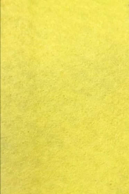 Felt Fabric - Yellow